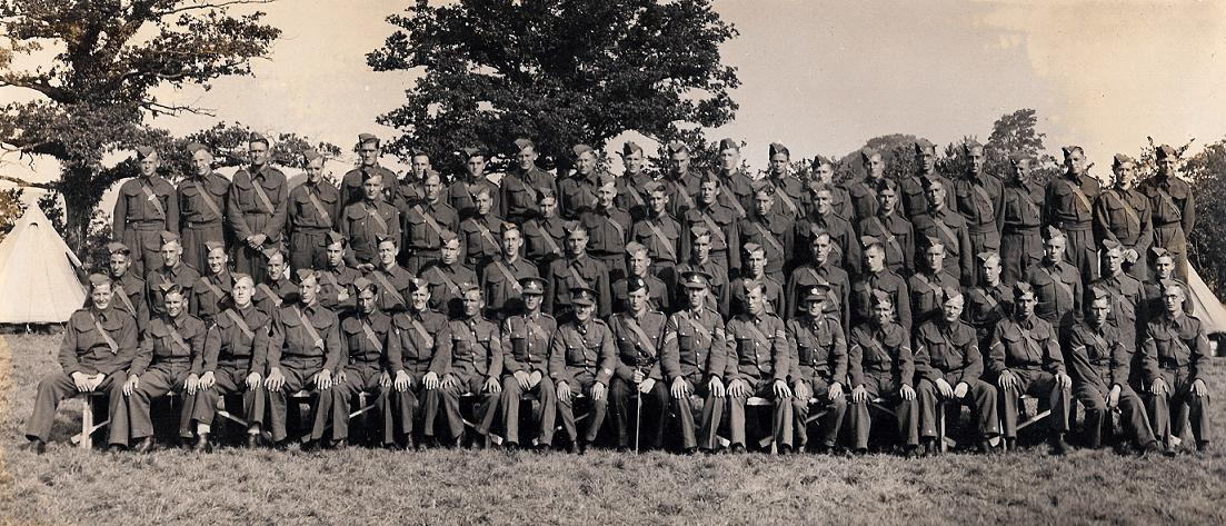 15 troop, 112 battery, 19th S/L, M D, R A September 1939