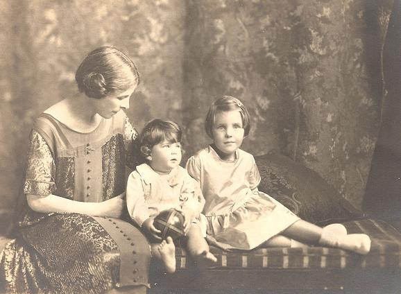 Frederick's wife with Douglas and Lilian.
