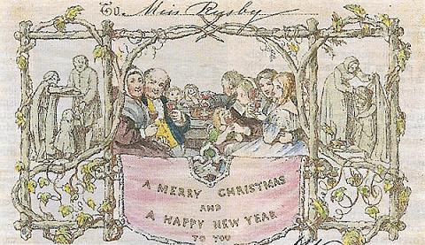 Sir henry cole for Who commissioned the first christmas card in 1843